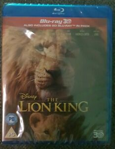 The Lion King 3D + 2D Disney Blu-ray Brand New Sealed