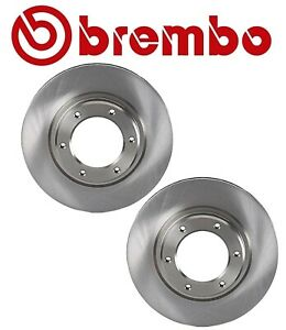 For Lexus LX450 Toyota Set of 2 Front Vented Brake Disc Rotors BREMBO 4351260090