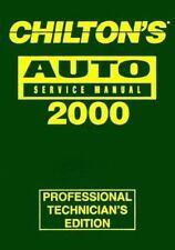 Chilton's Auto Repair Manual : 1996-2000, Shop Edition-ExLibrary