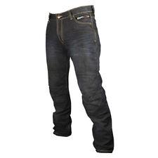 Pantalones para hombres color principal negro talla 40 para motoristas
