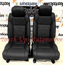 2014-2018 Toyota Tundra CrewMax KATZKIN Black Leather Seats SR5 TRD 2015 2016