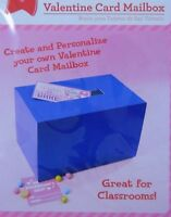 Valentines Day Card Mailbox Create & Design Box for School Classroom Exchange