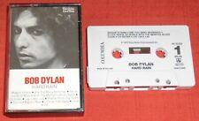 BOB DYLAN - CASSETTE TAPE - HARD RAIN - WITH ADVERTISING INSERT