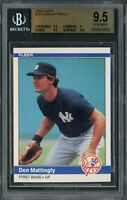 1984 Fleer Baseball | Don Mattingly ROOKIE RC Card # 131 | GEM MINT BGS 9.5