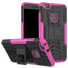 NEW Hybrid Case 2 Pieces Outdoor Pink For Huawei P10 Lite Case Cover New