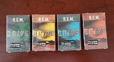 """R.E.M. """"Drive"""" all 4 cassette singles 1992 Not found on the LP.  New & sealed"""