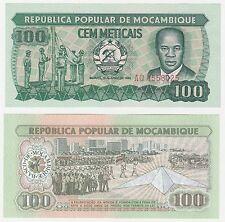 Mozambique 100 Meticais 1983 P-130a.2 UNC Uncirculated Banknote