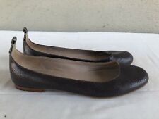 EUC Marc Jacobs Ballet Flats Dark Purple Leather Size 36.5 US 6.5 Women Shoes A