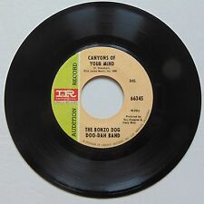 BONZO DOG DOO-DAH BAND: Canyons of Your Mind PSYCH 45 imperial DJ hear it!