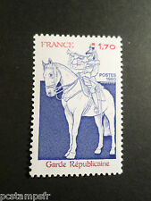 FRANCE 1980, timbre 2115, CHEVAL, GARDE REPUBBLICAINE, neuf**, VF MNH STAMP