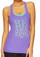 **NEW**LORNA JANE** purple tank top -sz XS