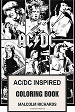 AC/DC Inspired Coloring Book: Australian Rock Legends and Epic Riffs... NEW BOOK