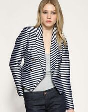 V £169 NEW REISS NAUTICAL SAILOR STRIPE BLAZER JACKET XS EXTRA SMALL 6 8 2 4 34