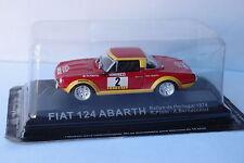 ALTAYA FIAT 124 ABARTH #2 PORTUGAL RALLY 1974 1/43