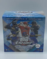 New Factory Sealed 2020 Topps Chrome Update Sapphire Edition Baseball Box