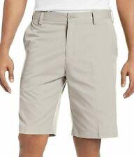 Adidas Golf Shorts Mens Size 40 Tan Chino Flat Front