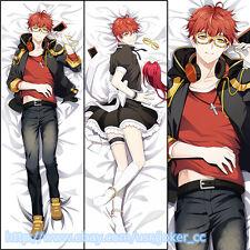 Game Mystic Messenger 707 Luciel Choi Anime Dakimakura Hugging Body Pillow Case