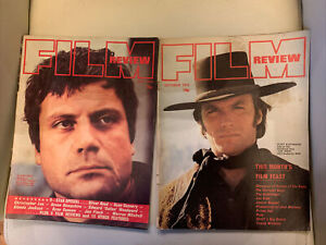 Bundle Of 2 Film Review Magazines. 1972. Pre Owned.
