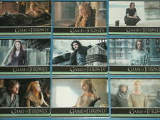 GAME OF THRONES 'Season Five' Complete Base Set Of 100 Trading Cards DAENERYS