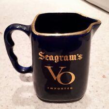 Seagram VO Canadian Whiskey - Ceramic Jug - Good Condition