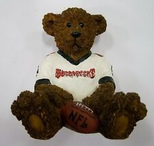 Tampa Bay Buccaneers NFL Football Ceramic Mini Teddy Bear Figurine by Elby Gifts