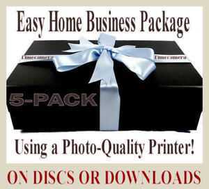 Proven Work From Home Business - MAKE VINTAGE PRINTS TO SELL - Discs or Download