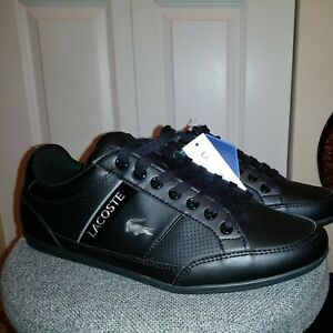 Lacoste Men Athletic Sneakers Chaymon 119 4 U CMA Size US 7 Black