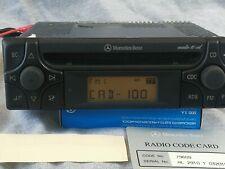 Mercedes AUDIO 10 30 R129 W124 201 202 210 190 Becker Alpine MF2910 Auto Radio