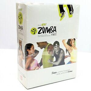 Zumba Fitness 4 Volume DVD Set Beginners Power Advanced Abs Buns & Thighs