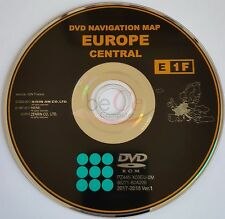 Toyota Lexus ORIGINAL Navigation DVD E1F 2018 Central Zentral Europa Update Map