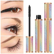 4D Waterproof Fiber Silk Eyelash Thick Curling Natural Lengthening Eyes Makeup