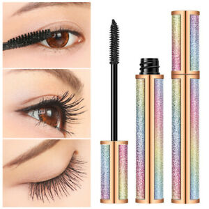 4D Waterproof Fiber Silk Eyelash Thick Curling Natural Lengthening Eyes Makeup