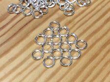 14x 925 SOLID STERLING SILVER HEAVY Open Jump Rings - 4mm  - Jewellery Making -