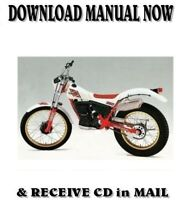 1984 Yamaha TY350 TRIALS Factory Owner Service Repair Manuals on CD