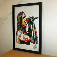Anthony Kiedis, Red Hot Chili Peppers, Lead Singer, Rap Rock, 11x17 PRINT w/COA