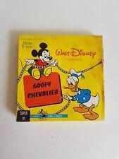 """Film super 8 Disney """"Goofy chevalier"""" couleur et muet"""