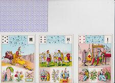 Tarot divinatoire  tarot Mlle Le Normand  1969 divination voyance cartes
