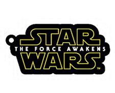 Star Wars Force Awakens Logo - Gummi Schlüsselanhänger / rubber keychain