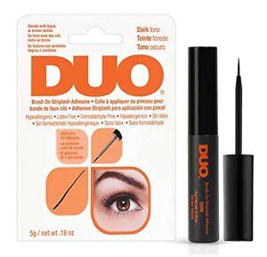 Ardell DUO Brush-on Strip Lash Adhesive Latex Free Lash Glue Dark Tone 5g