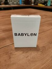 Fontaine Babylon Single Deck UV Activated Playing Cards Limited New and sealed !