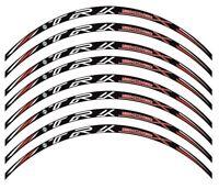 Adesivi cerchi striscie ruote Benelli Trk502 X wheels stickers kit 8 pezzi