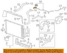 GM OEM Radiator-Bypass Hose Right 12637190