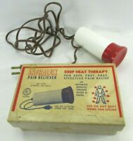 Vintage Redco INFRALUX Pain Reliever Medical Quack Instructions Infrared Therapy