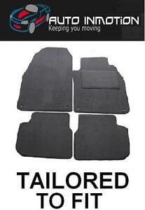 AUDI A2 (2000 - 2005) 4 FIXING CLIPS Tailored Car Floor Mats GREY