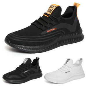 Men's Sneakers Athletic Running Outdoor Casual Walking Tennis Shoes Gym Sports