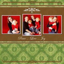 NEW Holiday Christmas Cards X'mas Photoshop PSD Templates 7