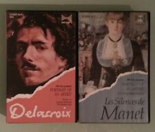rm arts LES SILENCES DE MANET / EUGENE DELACROIX THE RESTLESS EYE VHS VIDEOTAPE