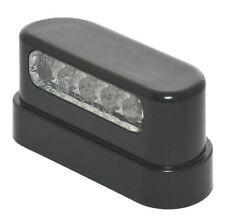 12V LED Kennzeichen Nummernschild Beleuchtung schwarz Universal Auto Anhänger