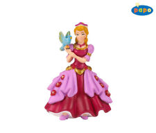 Princess with bird pink 3 1/2in Say Fairy tale Papo 39034