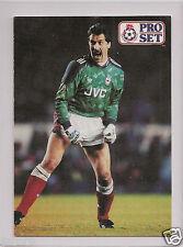 RARE 1990-'91 OF ARSENAL FC GOALKEEPER DAVID SEAMAN PRO SET TRADING CARD IN NM/M